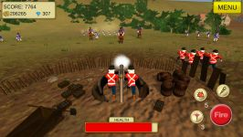 1815 Cannon Shooter Waterloo Screenshot