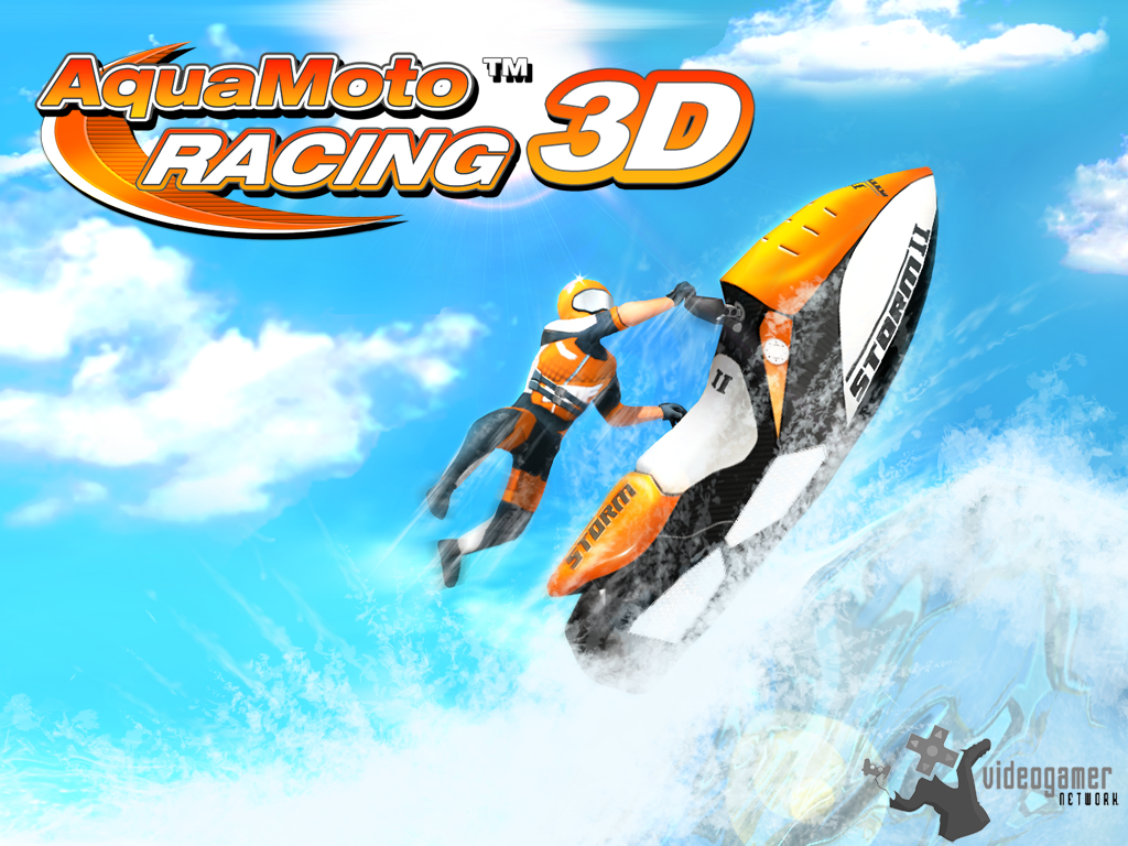 Aqua Moto Racing 3D Released for 3DS