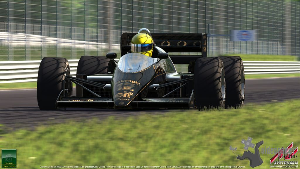 Assetto Corsa - Screenshots of Ayrton Senna's Lotus 98T Revealed