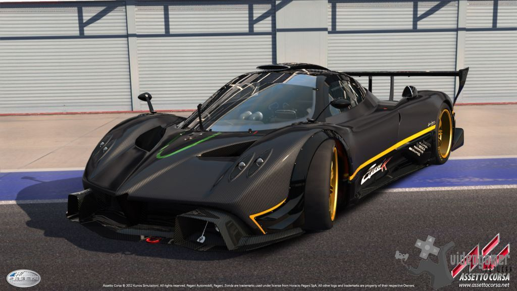 Assetto Corsa - Pagani Zonda R Screenshots Released