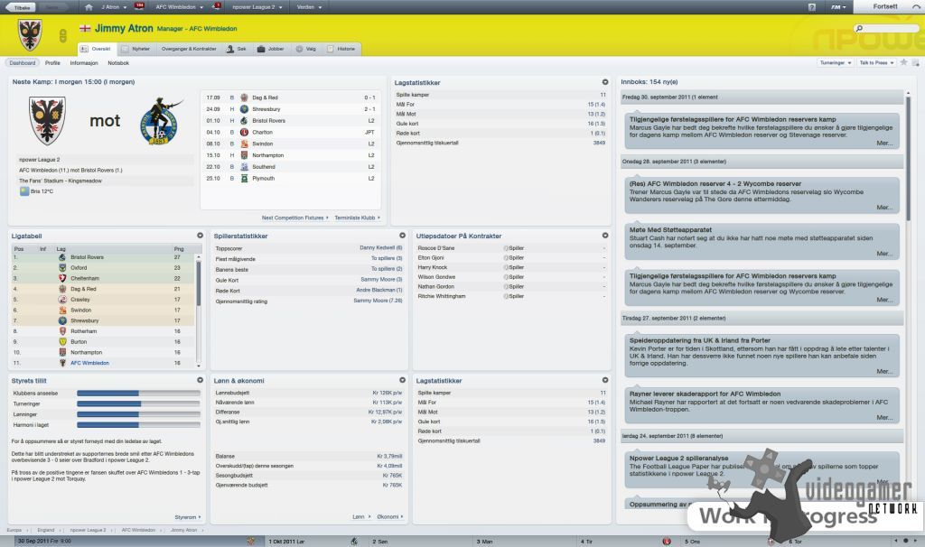 Football Manager Handheld 2012 Out Now