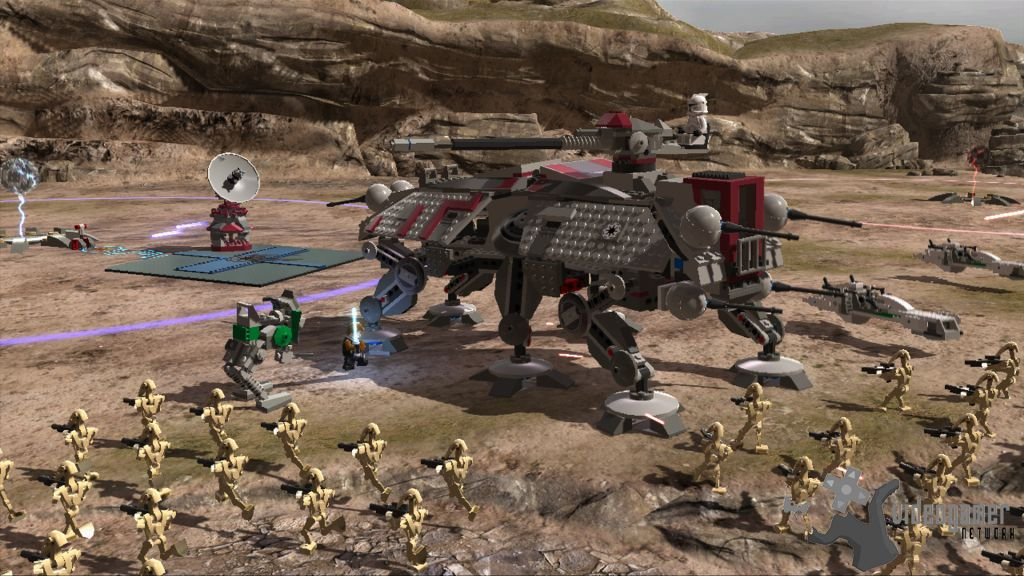 Lego Star Wars III: The Clone Wars - Vehicle Details