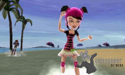 3DS Version of Monster High: Skultimate Roller Maze Scheduled