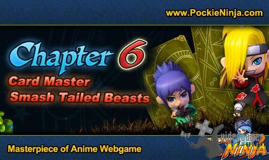 Pockie Ninja: Chapter 6 update brings new cards to the table | Pockie Ninja