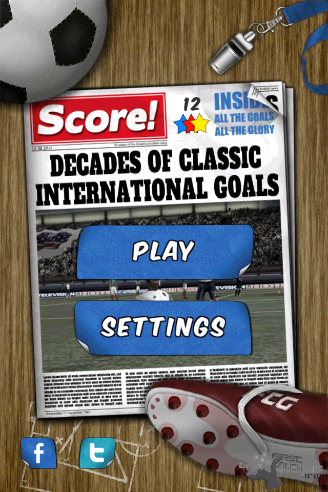 Soccer Puzzle Game Score! Now Available on the App Store