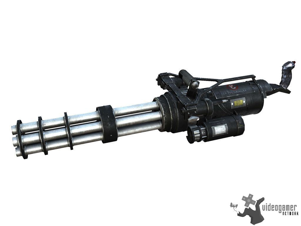 Serious Sam 3: BFE Weapons Images