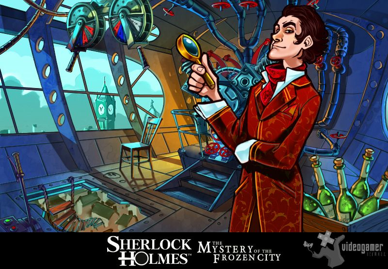 New Sherlock Holmes and the Mystery of the Frozen City Screenshots Released