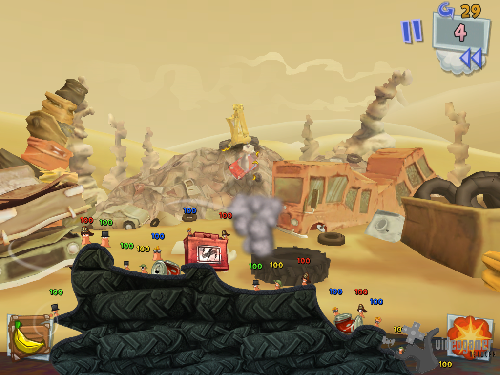 Worms 3 Update Released