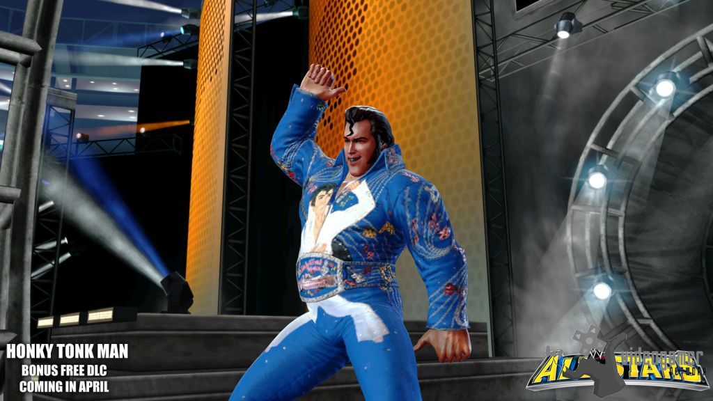 WWE All Stars Honky Tonk Man DLC