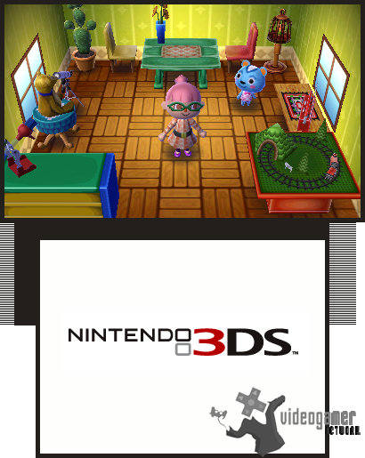 all animal crossing 3ds screenshots for 3ds. Black Bedroom Furniture Sets. Home Design Ideas
