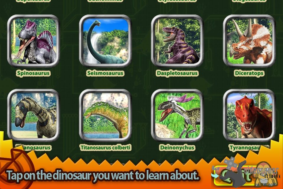 All dinosaur king d team adventures screenshots for iphone - Dinosaure king ...