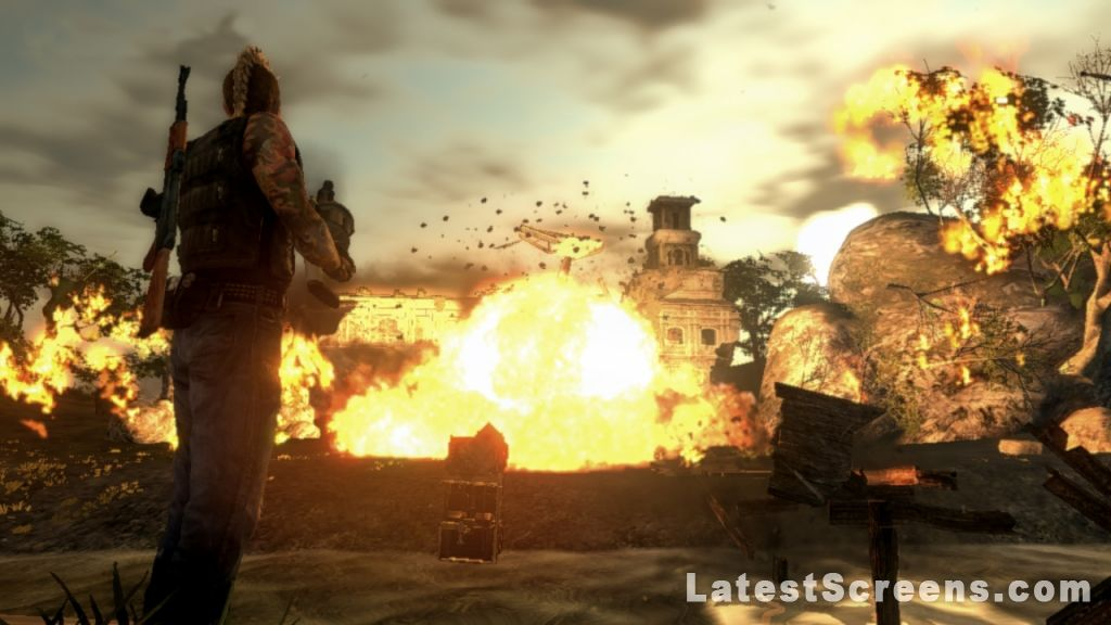 All mercenaries 2 world in flames screenshots for xbox 360 27 screenshots for mercenaries 2 world in flames show 1 16 17 27 altavistaventures Choice Image
