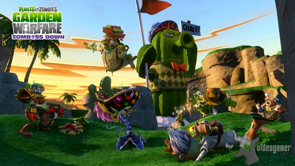 All Plants Vs Zombies Garden Warfare Screenshots For Xbox 360 Xbox One Playstation 3